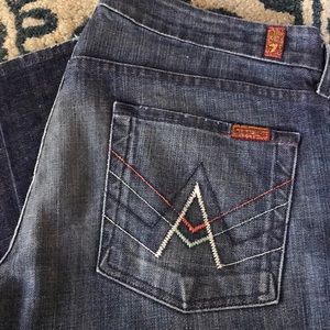 Never Worn Boot cut 7 jeans